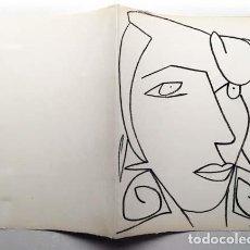 Arte: FRANÇOISE GILOT : LITOGRAFÍA PERTENECIENTE AL LIBRO DE ARTISTA ´PAGES D'AMOUR´ (1951) (PICASSO). Lote 151562178