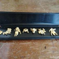 Arte: PIN LOTE TAUROMAQUIA COLECCION PIS TOROS TORERO. Lote 151601990
