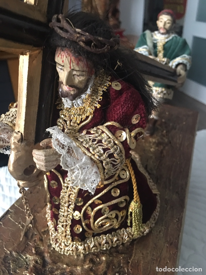 TRONO , EL ABUELO (JAEN) (Arte - Arte Religioso - Escultura)