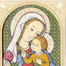 Arte: JOSÉ MARÍA NUET MARTÍ (BARCELONA 1914-1998) OBRA DE TEMÁTICA RELIGIOSA DEL PINTOR Y ESCULTOR. Lote 151656154