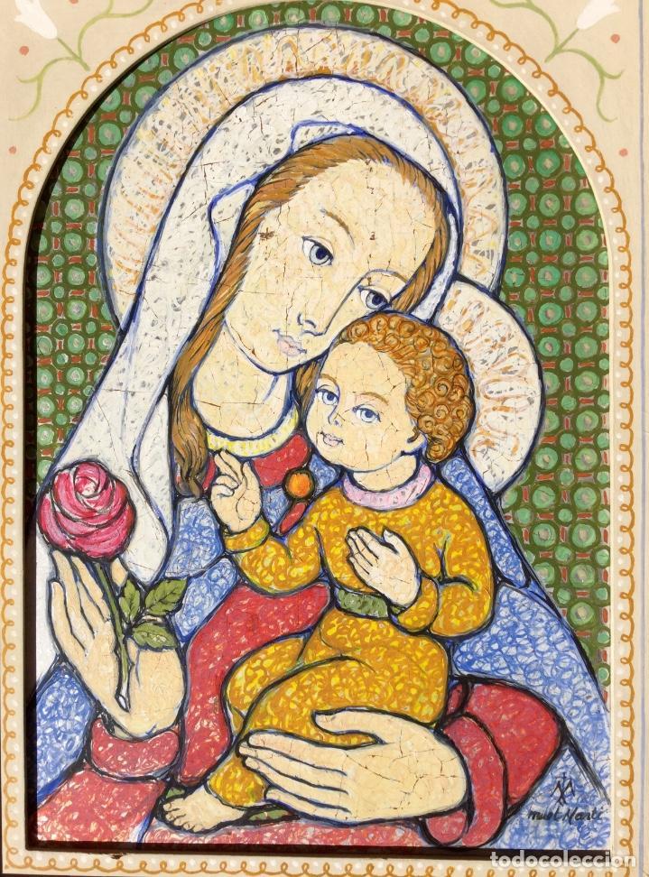 Arte: JOSÉ MARÍA NUET MARTÍ (Barcelona 1914-1998) Obra de temática religiosa del pintor y escultor - Foto 5 - 151656154