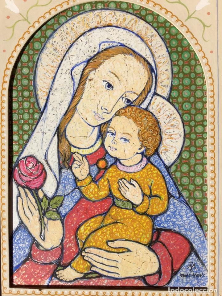 Arte: JOSÉ MARÍA NUET MARTÍ (Barcelona 1914-1998) Obra de temática religiosa del pintor y escultor - Foto 6 - 151656154