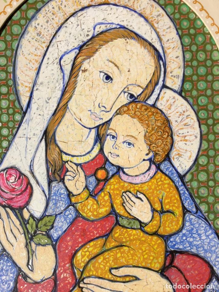 Arte: JOSÉ MARÍA NUET MARTÍ (Barcelona 1914-1998) Obra de temática religiosa del pintor y escultor - Foto 7 - 151656154