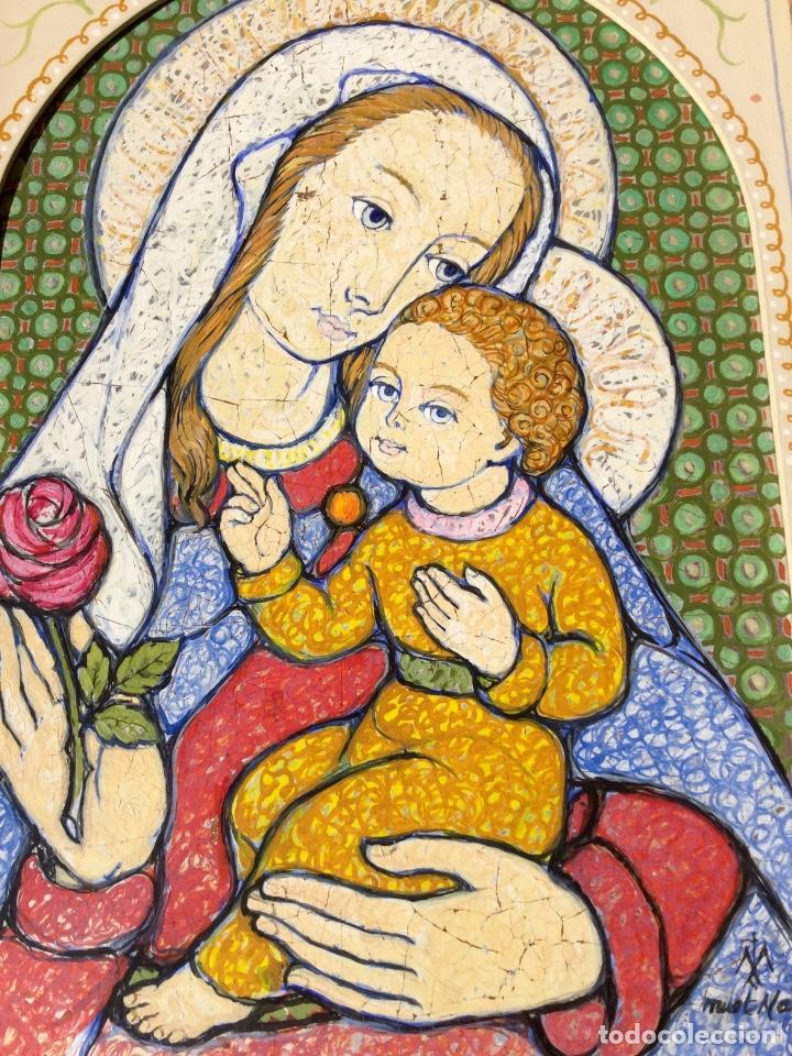 Arte: JOSÉ MARÍA NUET MARTÍ (Barcelona 1914-1998) Obra de temática religiosa del pintor y escultor - Foto 8 - 151656154