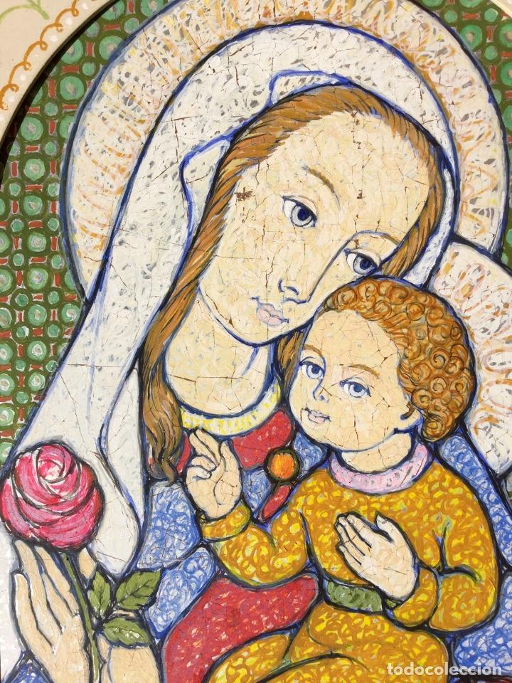 Arte: JOSÉ MARÍA NUET MARTÍ (Barcelona 1914-1998) Obra de temática religiosa del pintor y escultor - Foto 10 - 151656154