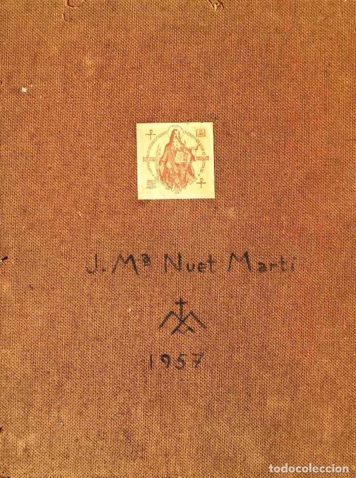 Arte: JOSÉ MARÍA NUET MARTÍ (Barcelona 1914-1998) Obra de temática religiosa del pintor y escultor - Foto 12 - 151656154