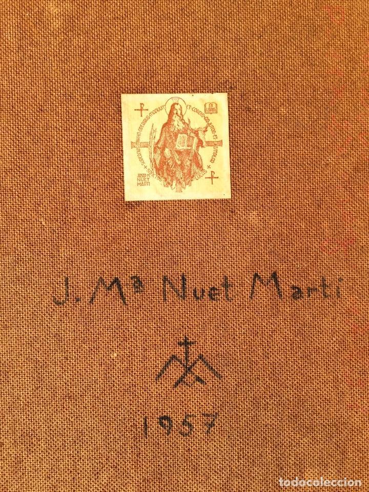 Arte: JOSÉ MARÍA NUET MARTÍ (Barcelona 1914-1998) Obra de temática religiosa del pintor y escultor - Foto 13 - 151656154