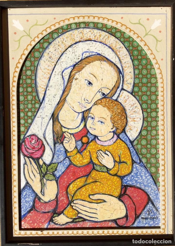 Arte: JOSÉ MARÍA NUET MARTÍ (Barcelona 1914-1998) Obra de temática religiosa del pintor y escultor - Foto 14 - 151656154