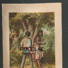 Arte: ANTIGUA LITOGRAFIA DE A. FORUNY - MADRID - MEDIDAS 21,30 POR 14,30 RESTOS DE HUMEDAD EN HOJA. Lote 151669390