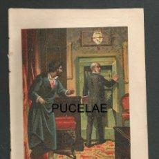 Arte: ANTIGUA LITOGRAFIA DE A. FORUNY - MADRID - MEDIDAS 21,30 POR 14,30 RESTOS DE HUMEDAD EN HOJA. Lote 151669554