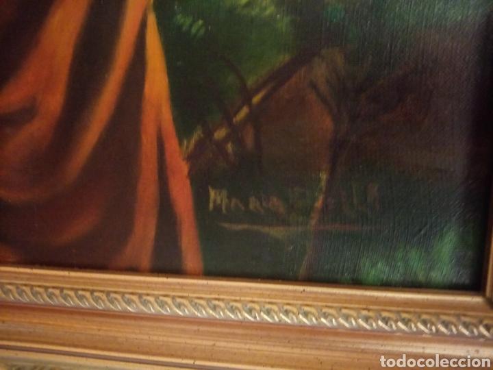 Arte: PRECIOSO CUADRO RELIGIOSO SAN JOSE ,VIRGEN MARIA Y EL NIÑO JESUS,NO SE ENVIA - Foto 12 - 151777790
