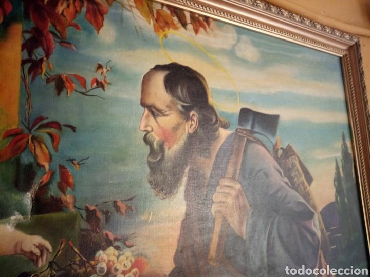Arte: PRECIOSO CUADRO RELIGIOSO SAN JOSE ,VIRGEN MARIA Y EL NIÑO JESUS,NO SE ENVIA - Foto 14 - 151777790