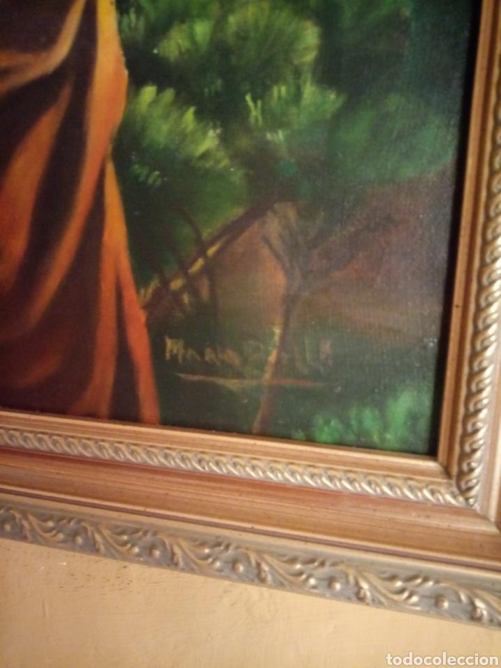 Arte: PRECIOSO CUADRO RELIGIOSO SAN JOSE ,VIRGEN MARIA Y EL NIÑO JESUS,NO SE ENVIA - Foto 21 - 151777790