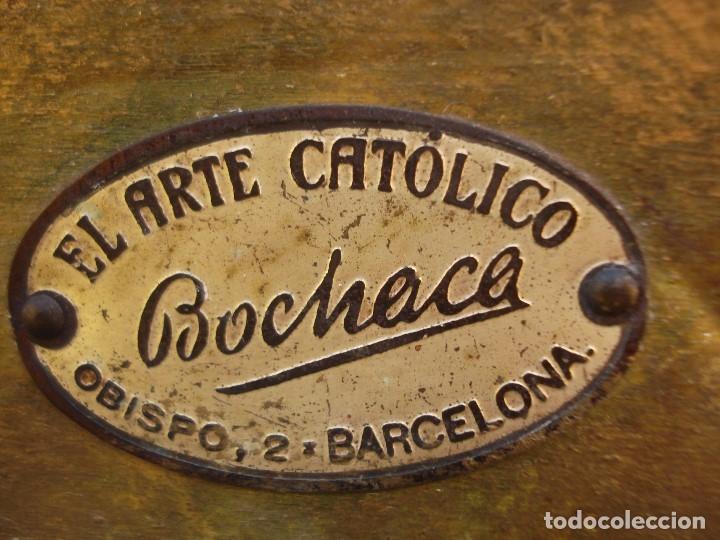 Arte: LAS ARTES RELIGIOSAS GRANDES MEDIDAS PARA ALTAR SAN JOSE CON NIÑO PASTA DE MADERA - Foto 18 - 151478166