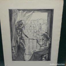 Arte: LITOGRAFÍA DEL PINTOR FRANCÉS PIERRETTE GARGALLO (PARÍS 1922).12/49.. Lote 151907722