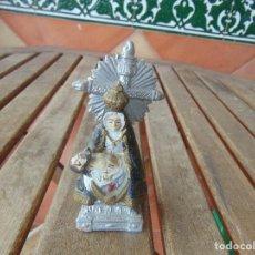 Arte: PEQUEÑA VIRGEN PIEDAD CON JESUS EN BRAZOS EN BARRO O TERRACOTA LAUREADA EN BARRO . Lote 151951294