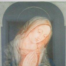 Arte: VIRGEN MARÍA. RELIGIOSO. SOMERA. GRABADO.. Lote 152047370