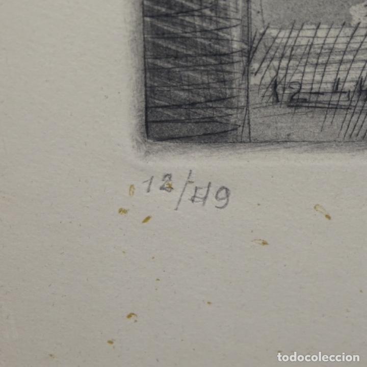Arte: Grabado aguafuerte de Javier vilato(1921-1999) sobrino de picasso.1945.12/49. - Foto 5 - 152049930