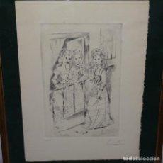 Arte: GRABADO DE PIERRETTE GARGALLO(PARIS1922).12/49. Lote 152051706