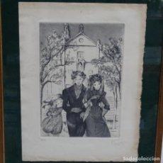Arte: GRABADO DE PIERRETTE GARGALLO(PARIS 1922).12/49. Lote 152051882