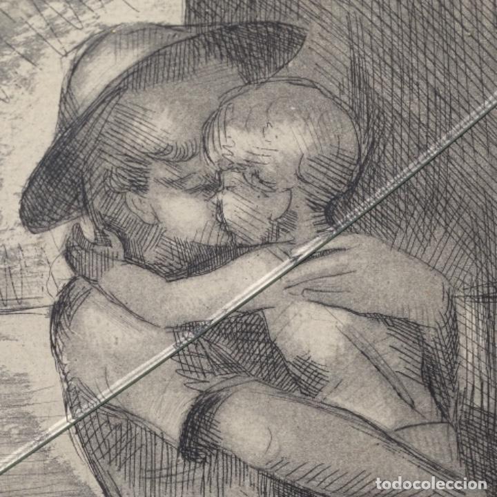 Arte: Grabado de Javier vilato(1921-1999).sobrino de Picasso.12/49 - Foto 3 - 152052078