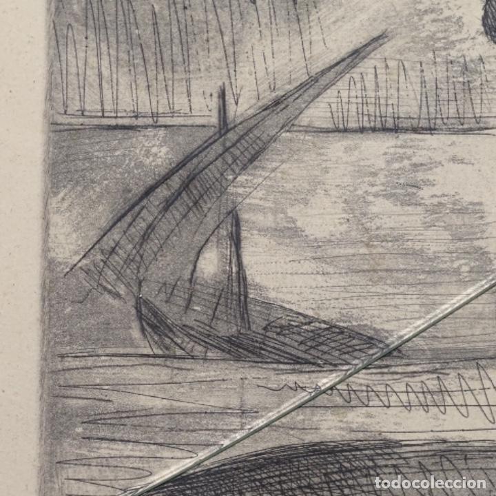 Arte: Grabado de Javier vilato(1921-1999).sobrino de Picasso.12/49 - Foto 4 - 152052078