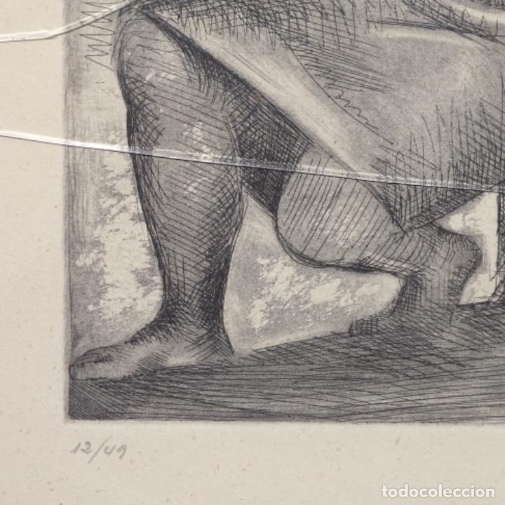 Arte: Grabado de Javier vilato(1921-1999).sobrino de Picasso.12/49 - Foto 5 - 152052078