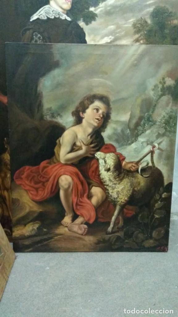 SAN JUAN BAUTISTA NIÑO - MURILLO (Arte - Arte Religioso - Pintura Religiosa - Oleo)