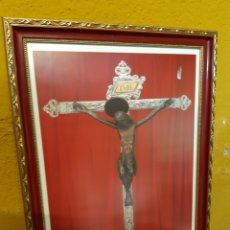 Arte: BJS. SANT CRIST IGUALADA. CON MARCO 34 X 46. Lote 152171606