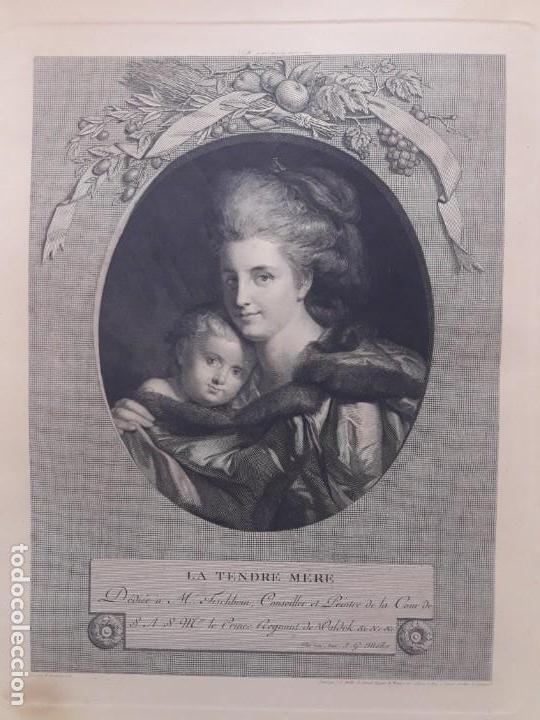 Arte: Grabado francés S. XVIII - Foto 2 - 152198378
