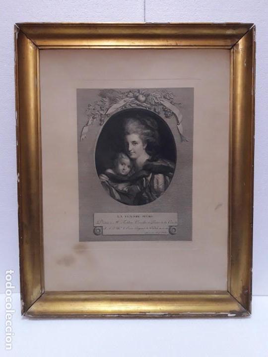 GRABADO FRANCÉS S. XVIII (Arte - Arte Religioso - Grabados)