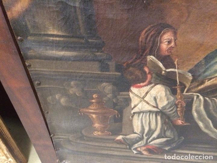 Arte: OLEO ESCUELA FLAMENCA S.XVIII. - Foto 5 - 112758995