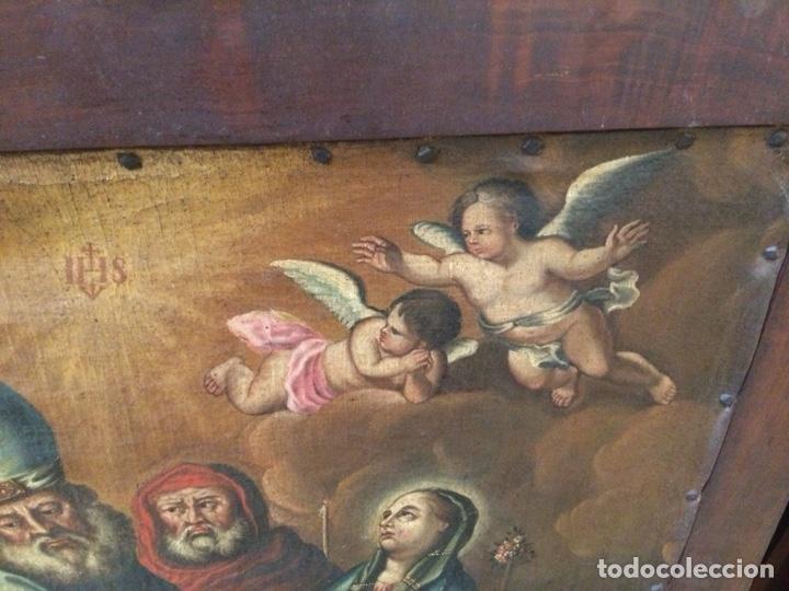 Arte: OLEO ESCUELA FLAMENCA S.XVIII. - Foto 6 - 112758995