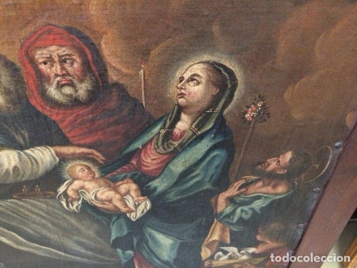 Arte: OLEO ESCUELA FLAMENCA S.XVIII. - Foto 7 - 112758995