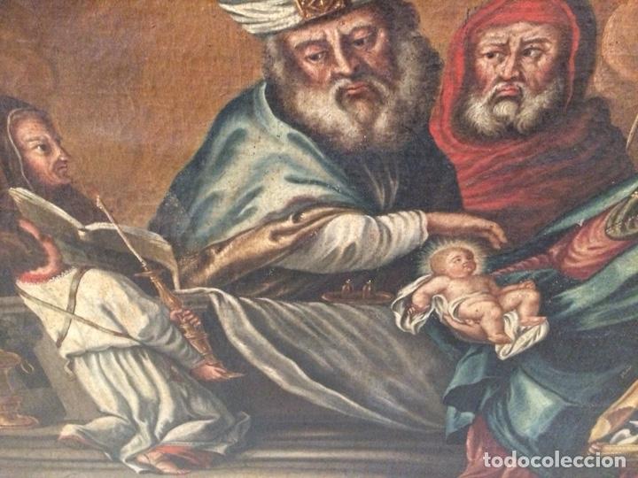 Arte: OLEO ESCUELA FLAMENCA S.XVIII. - Foto 8 - 112758995