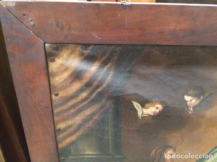Arte: OLEO ESCUELA FLAMENCA S.XVIII. - Foto 11 - 112758995