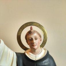 Arte: IMAGEN DE SAN VICENTE FERRER DE LA ESCUELA DE OLOT. Lote 152336114