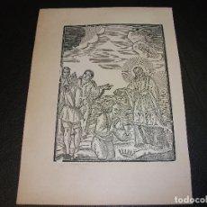 Arte: SIGLO XIX GRABADO XILOGRAFICO DE SAN FRANCISCO XAVIER - RELIGION. Lote 152341266