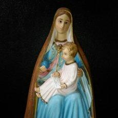Arte: SANTA ANA. 35CM.DE ALTURA.ES PRECIOSA.ARTE RELIGIOSO.OJOS DE VIDRIO/CRITAL.. Lote 152409648