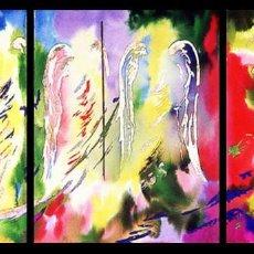 Arte: LOS GUARDIANES / LOS CUATRO ARCÁNGELES. Lote 152452126