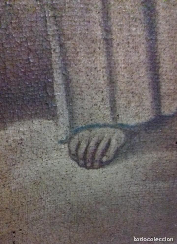 Arte: INMACULADA. SIGLO XVIII. ESCUELA ESPAÑOLA. ÓLEO SOBRE LIENZO. 87x65,4. - Foto 5 - 152842322