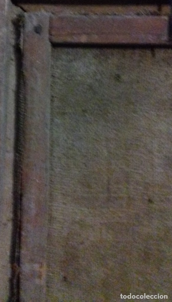 Arte: INMACULADA. SIGLO XVIII. ESCUELA ESPAÑOLA. ÓLEO SOBRE LIENZO. 87x65,4. - Foto 10 - 152842322