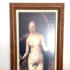 Arte: LITOGRAFIA EVA DE ALBERTO DURERO MUSEO DEL PRADO AÑOS 70. Lote 153068414