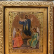 Arte: ICONO SIGLO XIX - LA ASCENSIÓN. Lote 153101954