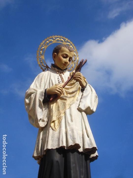 MAGNIFICO SANTO PARA PROCESION GRANDES MEDIDAS (Arte - Arte Religioso - Escultura)