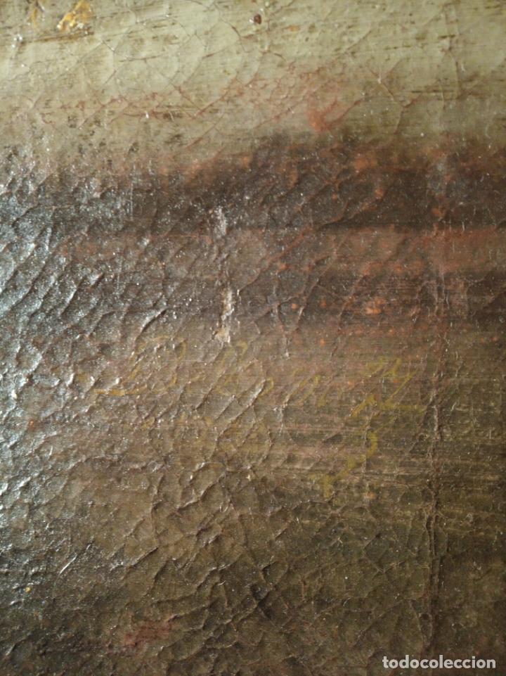 Arte: EXTRAORDINARIO OLEO SOBRE LIENZO - ARREPENTIMIENTO DE MARÍA MAGDALENA - FIRMADO - SIGLO XVII - Foto 6 - 153363926