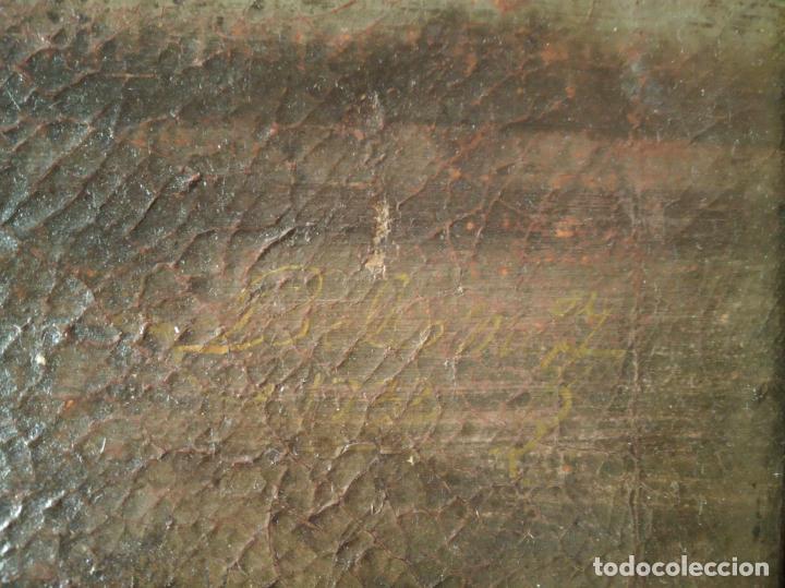 Arte: EXTRAORDINARIO OLEO SOBRE LIENZO - ARREPENTIMIENTO DE MARÍA MAGDALENA - FIRMADO - SIGLO XVII - Foto 7 - 153363926