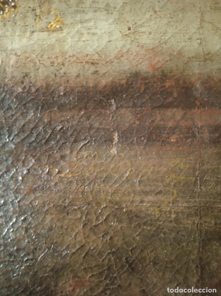 Arte: EXTRAORDINARIO OLEO SOBRE LIENZO - ARREPENTIMIENTO DE MARÍA MAGDALENA - FIRMADO - SIGLO XVII - Foto 10 - 153363926