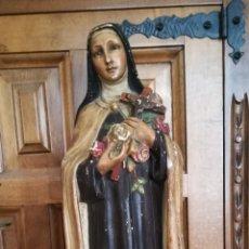 Arte: ANTIGUA FIGURA RELIGIOSA, SELLADA. Lote 153557492