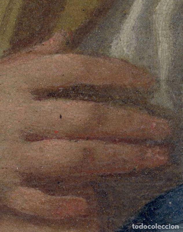 Arte: FRANCESCO DE MURA (ITALIAN, 1696 - 1782) Vergine Immacolata oil on copper Virgen Inmaculada - Foto 3 - 153659170